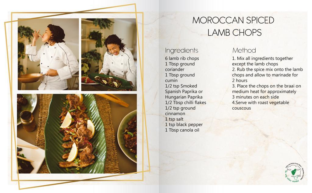 Moroccan Spiced Lamb Chops